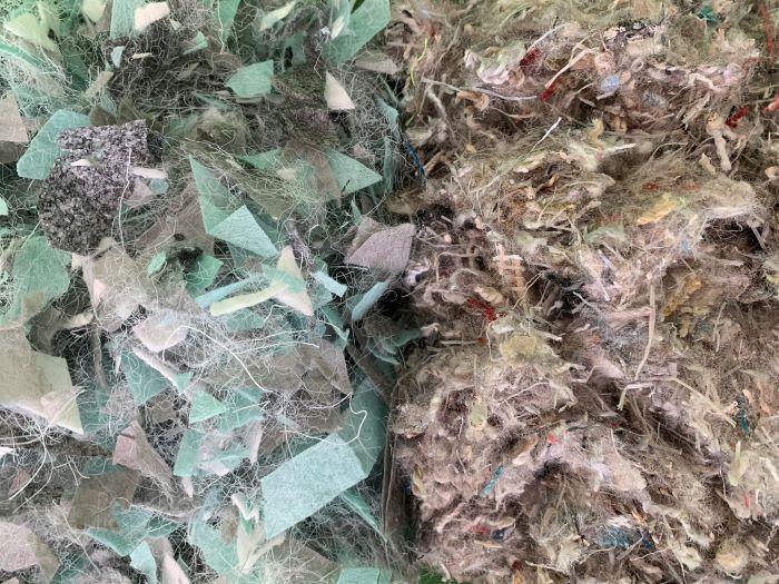 Close up of TruTex Oasis and TruTex Element Materials